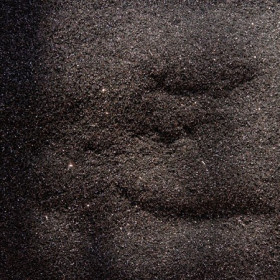 Czarna Pantera, brokat o drobnym ziarnie