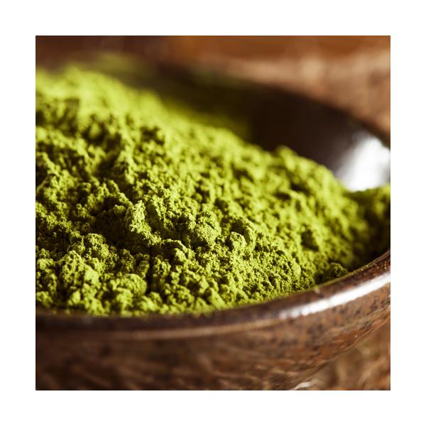 Zielona herbata w proszku