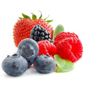 Jagody, truskawki i maliny - aromat kosmetyczny