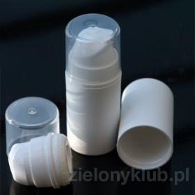 Dozownik Airless biały 15 ml