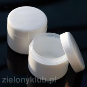 Słoik na krem 120 ml biały