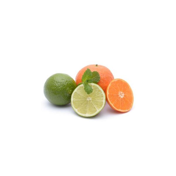 limonka, mandarynka i bazylia